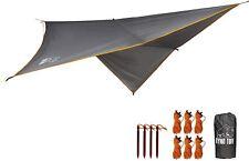 Ryno Tuff Hammock Rain Fly - Camping Tarp 10x10 Foot