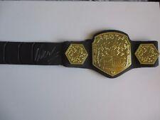 WANDERLEI SILVA SIGNED PRIDE GRAND PRIX JAKKS TOY CHAMPIONSHIP BELT DC/COA (UFC)