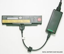 External Laptop Battery Charger for Lenovo ThinkPad L440, L540, T440p, 0C52863