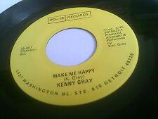 Kenny Gray Make Me Happy / Take Me As I Am Rare EX U.S. PG-13 25-001
