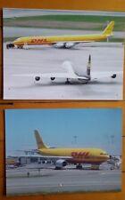 Original 6X8 Color Photo Prints - DHL & UPS DC-8/A300 (YYZ)