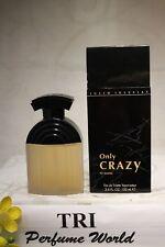ONLY CRAZY by Julio Iglesias Eau de Toilette EDT Women Spray 3.4 fl.oz.