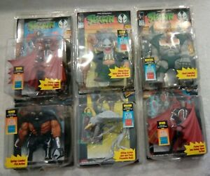 Lot of 6 Vintage 90's Spawn Action Figures