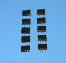 10 x IDC Flat Cable 10-Pin PCB Female connectors (2x5), Fast ship from USA