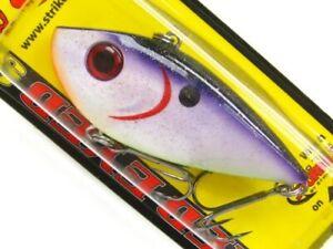 Strike King REYESD12-452 Royal Purple Red Eye Shad 1/2 Oz. Lipless Fishing Lure