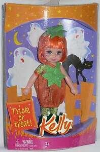 Mattel 2008 Barbie's Kelly Trick or treat Halloween Miranda doll NRFB