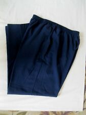 Briggs New York Women's Dress Pants, Sz 22WT,Navy Blue, Office Wear, Poly/Rayon