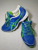 ASICS Men's GEL NIMBUS 17 Running Shoes T507N Blue Electric Green Size 7 US