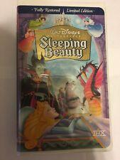 Walt Disney Sleeping Beauty VHS Masterpiece SEALED NEW 1997 Limited Edition