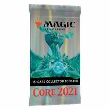 MTG Core 2021 Collector Booster pack Factory Sealed English