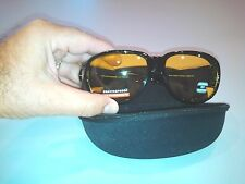 XXL NEW Oversize Zipper Eye Glasses Sunglasses Clam Shell Hard Case W01-HC