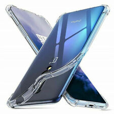For OnePlus 7 Pro Clear Slim Thin Soft TPU Silicone Bumper Back Case Cover