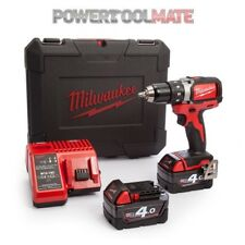Milwaukee M18BLDD-402C Compact Brushless Drill Driver with 2 x 4.0Ah Batteries