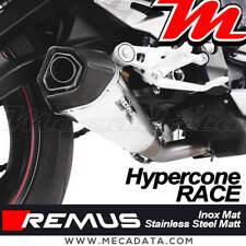 Silencieux échappement REMUS Race Inox mat Triumph Street Triple 765 S 2017