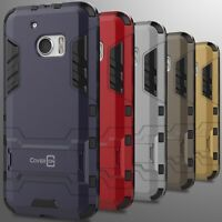 For HTC 10 Case Hard Slim Protective Impact Armor Hybrid Kickstand Phone Cover