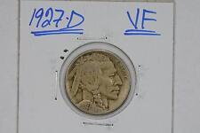 1927-D Buffalo Indian Head 5C Nickel Vf