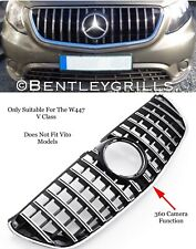 MERCEDES V CLASS W447 AMG PANAMERICANA GT GRILLE MODELS 2014 ON BLACK OR CHROME