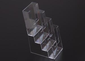 Slatwall/Wall Mount/Freestandin Leaflet Dispenser 4 Tier DL