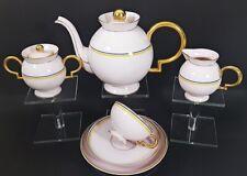 Haviland Art Deco Teeservice Entwurf: Gio Ponti Tea Set um 1930, selten