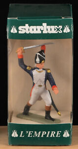 Starlux L'Empire - Grenadier Captain - 65mm painted toy soldier mint in box