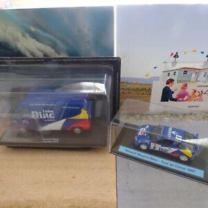 Renault Master assistance rallye Team Dia 1997 + Mégane Renault maxi 1997 1/43