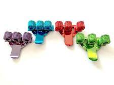 4 färbig Höhen dreifach Stifthalter Tasche Stift Klammer - blau, grün, rot,