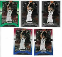 2019-20 Prizm Jaylen Hands RWB Green Refractor + Base RC Lot x 5 Nets