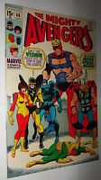 AVENGERS #68 VISION   VERY GLOSSY AND FRESH 9.6/9.8 WHITE