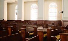 1920 Antique Oak Wood Church Pews For Sale
