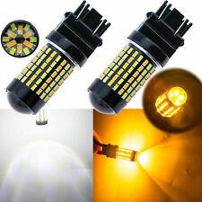 3157 Switchback LED Bulbs DUAL White Amber Turn Signal / Daytime Running Lights