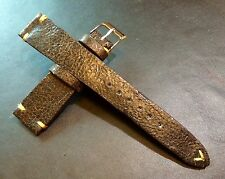 New Material! Crack Pattern Leather Watch Strap for Luxury watch (20/16mm)