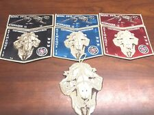 OA KTEMAQUE LODGE 15 2015 NOAC TWO PIECE SETS #16 OF ONLY 25 SETS MADE