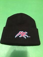 Vintage XFL Memphis Maniax Embroidered Cuffed Beanie Hat Cap Express New