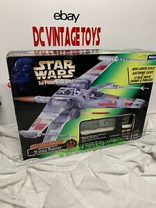 Star Wars Power of the Force POTF Electronic Power F/X X-Wing Fighter 1997 VTG