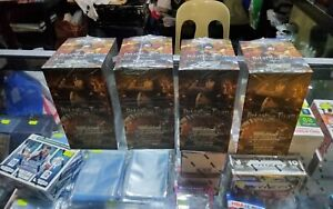 4 SEALED BOXES ATTACK ON TITAN VOL 1 WEISS SCHWARZ ENGLISH DHL SHIPPING