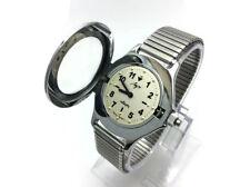 Vintage USSR Belarus quartz Watch for blind LUCH 2356 RAY + soft metal bracelet