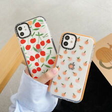 Cute Fruit Soft TPU Clean Phone Case Cover For iPhone 11 Max X XR Xs 7 SE (2020)