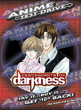 Anime Test Drive Descendants of Darkness - Brand NEW DVD