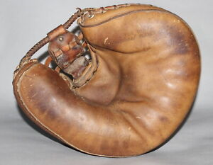 Vintage 1960's Rawlings Heart of the Hide HOH-X baseball catchers mitt USA made