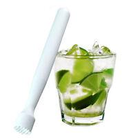 1X Plastic Cocktail Muddler Mixer Drink Bar Barware Pestle Stirrer Mojitos R0G0