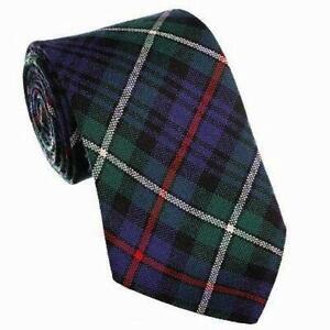 100% Wool Traditional Scottish Tartan Neck Tie - MacKenzie