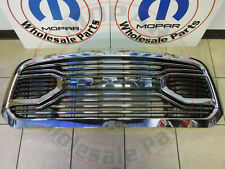 DODGE RAM 1500 LARAMIE LIMITED Chrome Radiator Grille NEW OEM MOPAR