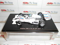 SPARK S1757 SHADOW DN8 #16 JEAN PIERRE JARIER USA GP'77 1:43