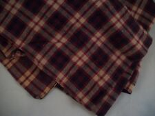 Pair of Cafe Curtains - Red Plaid