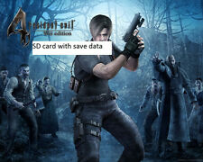 GAME-SAVE on SD CARD for Resident Evil 4, Nintendo Wii cheat file ALL GUNS!