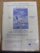 03/05/1987 Yeovil Sheborne And District U12 League Cup Final: AFC Camel v Sherbo
