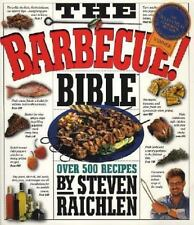 The Barbecue! Bible, Steven Raichlen, Good Condition, Book
