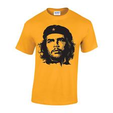 Che Guevara New MENS Face Image T-shirt freedom Revolution cuba colour unisex