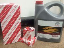 TOYOTA AVENSIS 1.8 1ZZFE AIR + OIL FILTER + SPARK PLUGS +OIL SERVICE KIT 2000-02