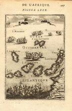 CANARY ISLANDS. Islas Canarias Tenerife Gran C Lanzarote. Spain. MALLET 1683 map